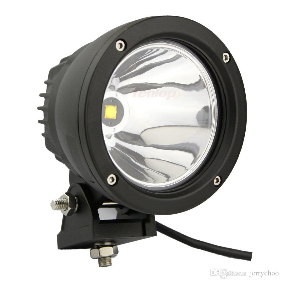 5 Inch Round 25W LED Headlight A-Pillar Bumper Light With One PCS Wire For Wrangler Defender Offroad 4*4 SUV ATV