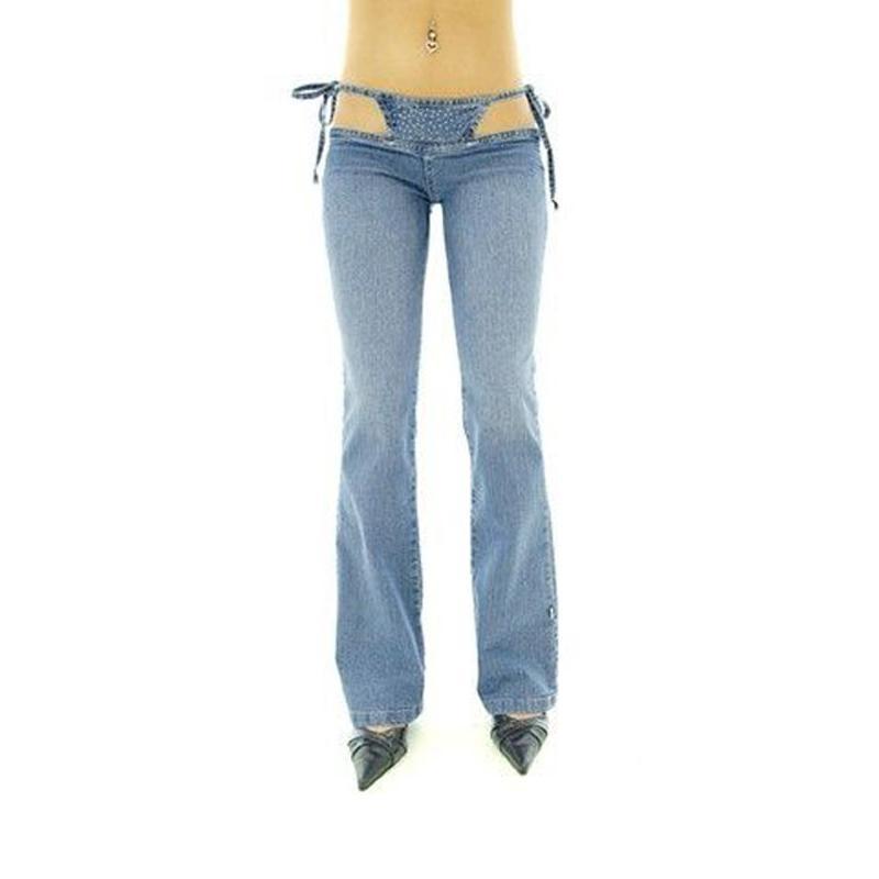 Sexy low waist jeans