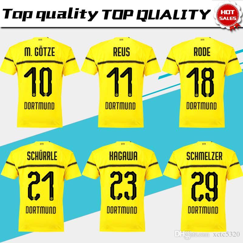 ... get wholesale dortmund 11 reus third soccer jersey 18 19 10 m.gotze 3rd  yellow e5b40b7dd