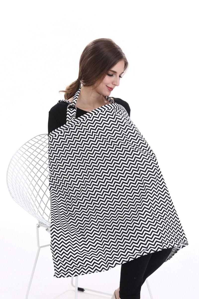 Tablier d'allaitement d'allaitement infantile respirant coton tissu de soins infirmiers expédition de voiture chaise couvre à l'extérieur l'alimentation de maternité Tops