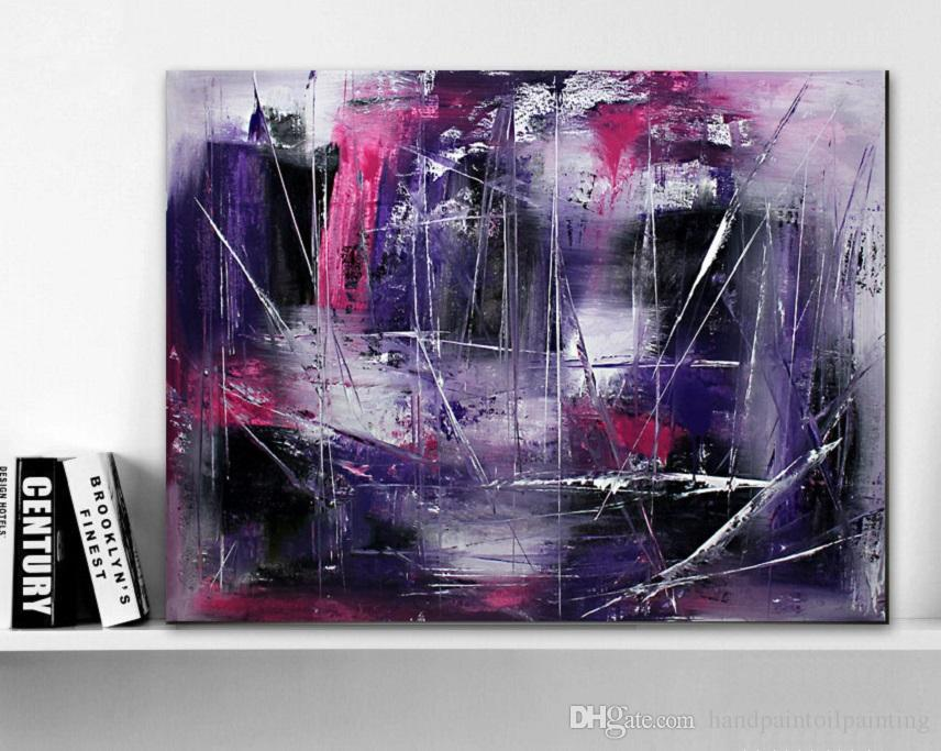2018 Hand Painted Original Abstract Modern Art Contemporary Painting ...