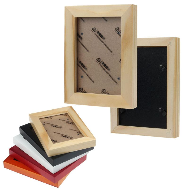 Fashion Wooden Wall Mounted Hanging Photo Frame Of Home Decor Frame