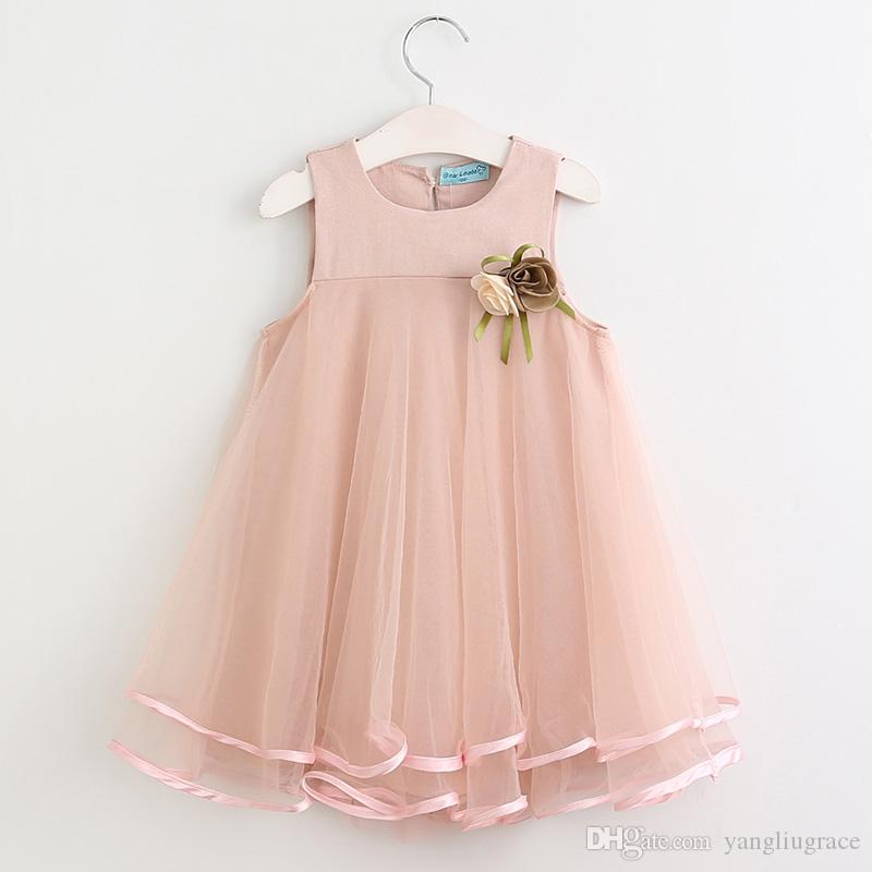 ff7490da7 2019 Brand Princess Dress Girls Dress Cute Children Clothing 2018 ...