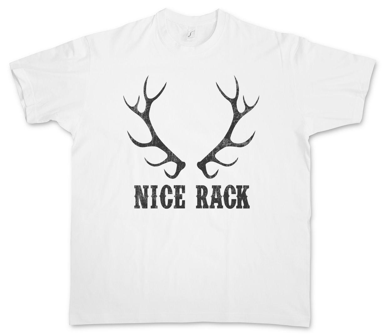 61dd4525 NICE RACK T SHIRT Hunter Fun Deer Hunting Breasts Boobs Rifle Hillbilly Hunt  Quirky T Shirt Awesome T Shirts For Sale From Shorttshirt, $11.17|  DHgate.Com
