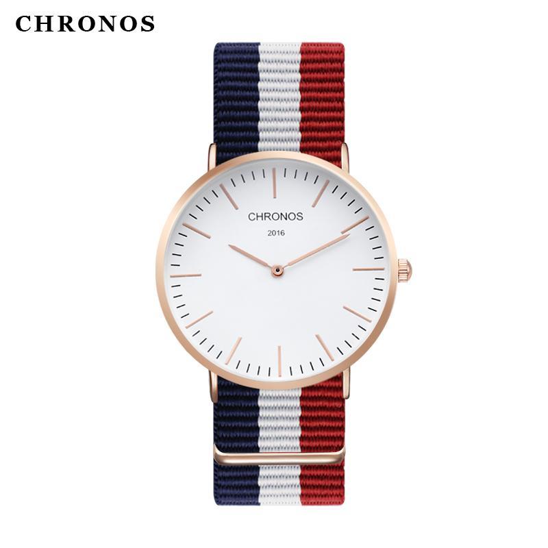 9cde468550bb Compre CHRONOS Nueva Llegada Hombres Mujeres Relojes Relojes De Cuarzo  Relojes De Las Mejores Marcas De Lujo De Oro Plata Hombre Reloj Analógico  Relojes ...