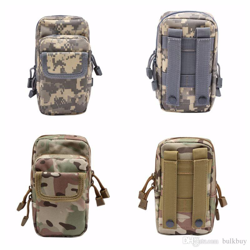 Outdoor Military EDC Nylon Tactical Molle Waist Pack Tools Utility Sundries Pouch Equipment Packs Bags