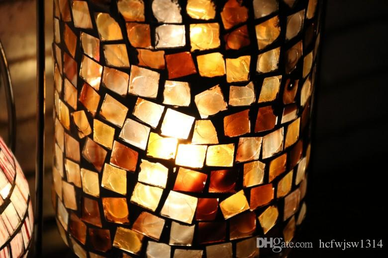 Turkey color glass lamp craft lamp personality characteristic creative Muslims lamp lighting lamps and lanterns