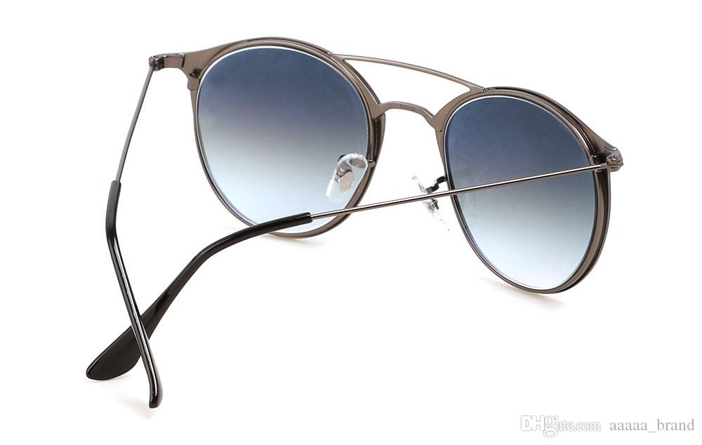 2020 Best quality Sunglasses Men Women Brand Designer Alloy Frame G15 gradient Glass Lens oculos de sol With free Retail case and label