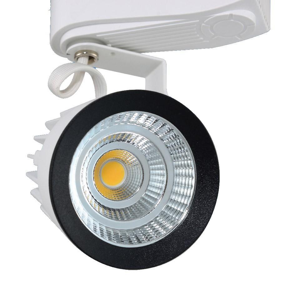 PANNOCCHIA 15W 20W 35W 40W AC85-265V Illuminazione a binario a led Illuminazione a binario a soffitto in alluminio Illuminazione a binario Illuminazione a binario Spot