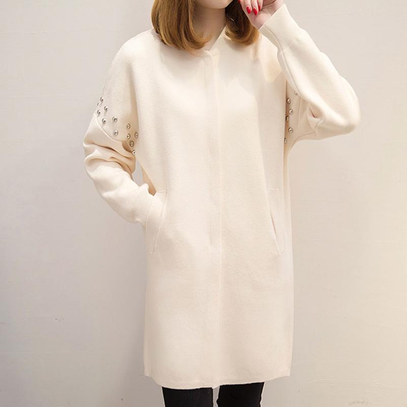 Mode Printemps Automne Manteau Long Nouvelle Chandail Pull Casual 2018 Tricoté Cardigan Veste Femmes Cardigans Design Chaud Dame Femme w8mNyn0vO