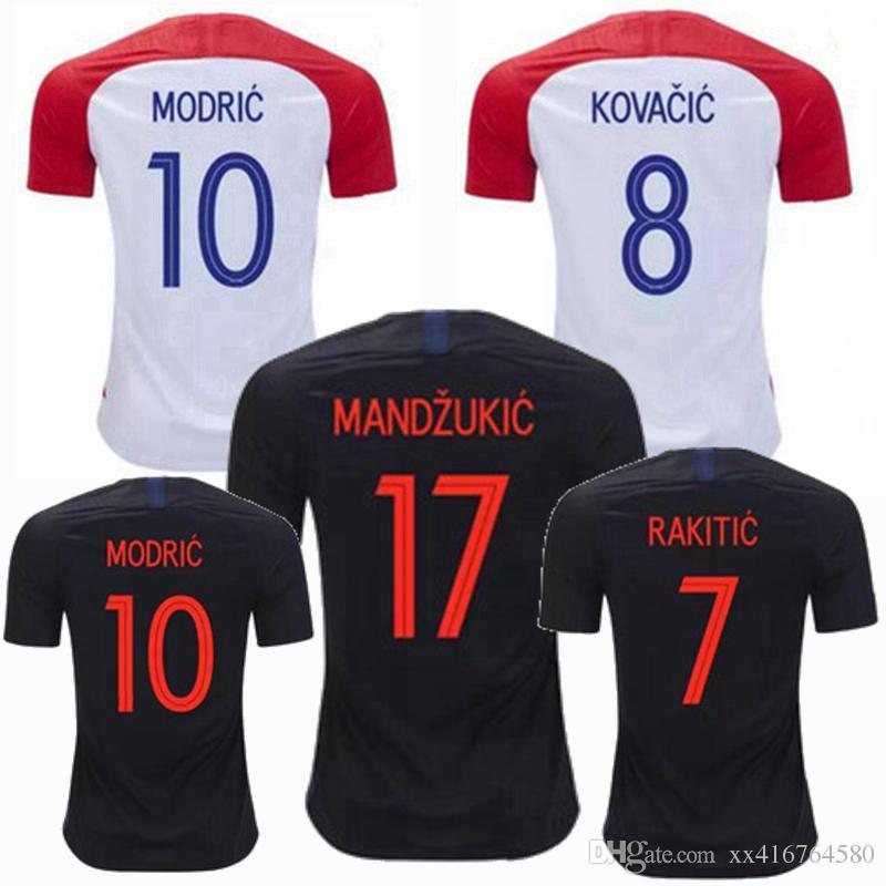 2019 2018 2019 Soccer Jerseys World Cup PERISIC RAKITIC MODRIC MANDZUKIC 18  19 Home Away Football Soccer Shirt From Xx416764580 9d4e366c2
