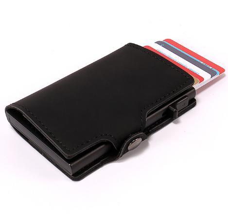 1708f1f47d573 Großhandel Casekey Luxus Herren Geldbörse Smart Mini Rfid Geldbörse Mit Pop  Up Visitenkartenetui Porte Carte Credito Von Slimwindy