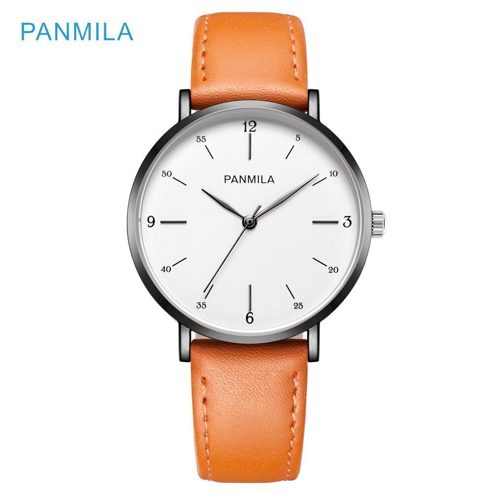 ccab5219977 Compre PANMILA Simples Big Dial Mulheres Relógios Moda Senhoras De Quartzo  Relógios Top Marca De Luxo Ocasional Feminino Relógio De Pulso Mão Relógio  ...