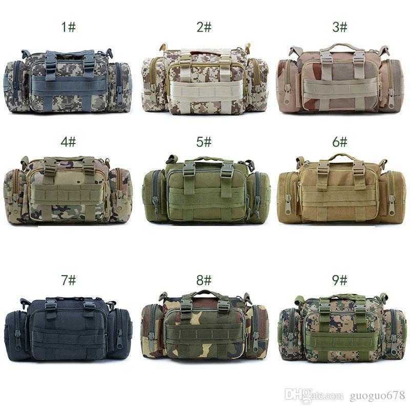 51f54ae64a1b Tactical Waist Packs Military Army Shoulder Belt Bum Bag Utility Molle  Messenger