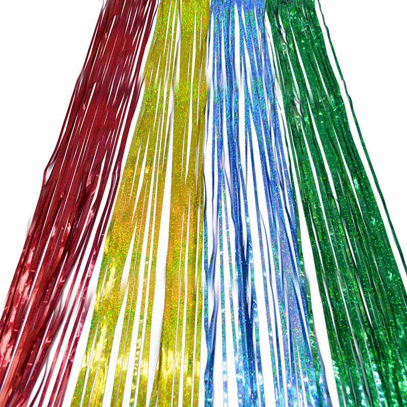 10 * 100 cm Lametta Fringe Glitter Vorhang Tür Regen Heim Zimmer Hochzeit Party Bühnenbild Hintergrund Foto Requisiten Liefert