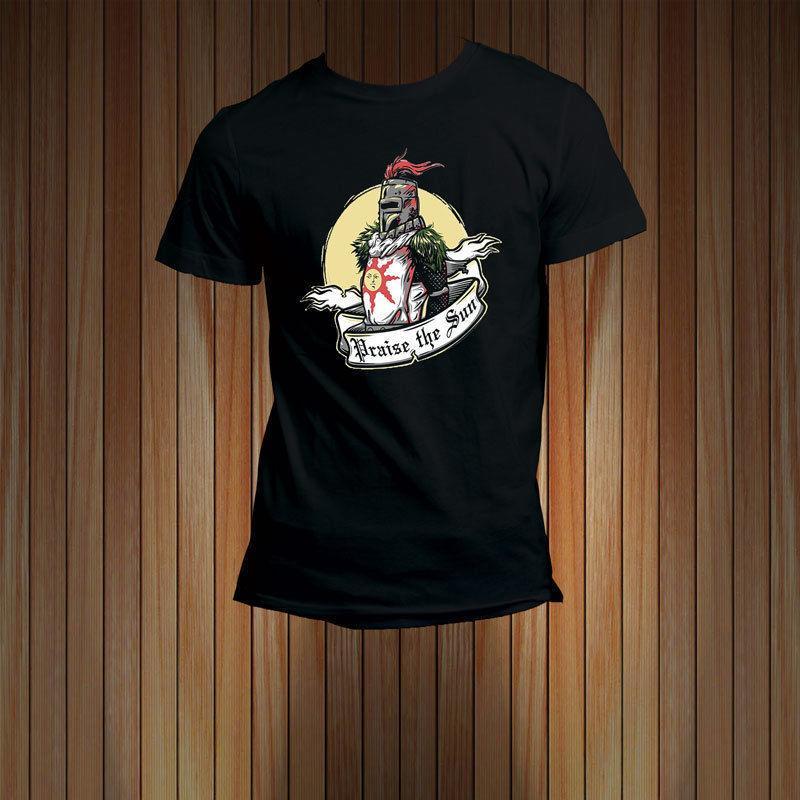 e659f311b Cool Graphic Tees Crew Neck Design Short Sleeve Dark Souls Ii Praise The Sun  Mens T Shirts 1 T Shirt T Shirt And Shirt From Shirtshotop, $11.0|  DHgate.Com