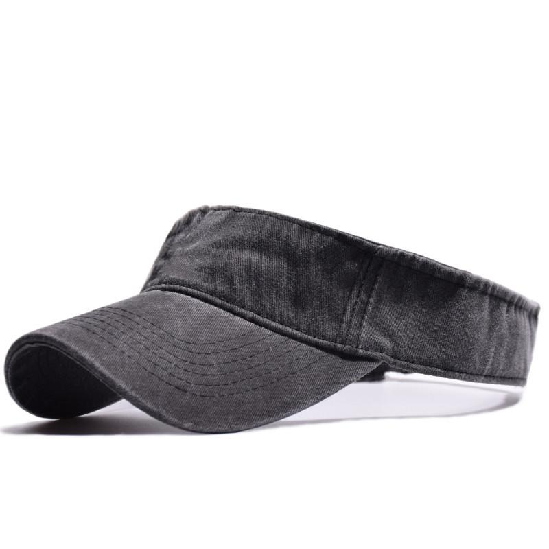 ba78b4d0 2018 High Quality Washed Headsweats Sun Visor Wide Brim UV Protection  Summer Beach Packable Visor For Men Women Empty Top Hat Baby Cap  Embroidered Hats From ...