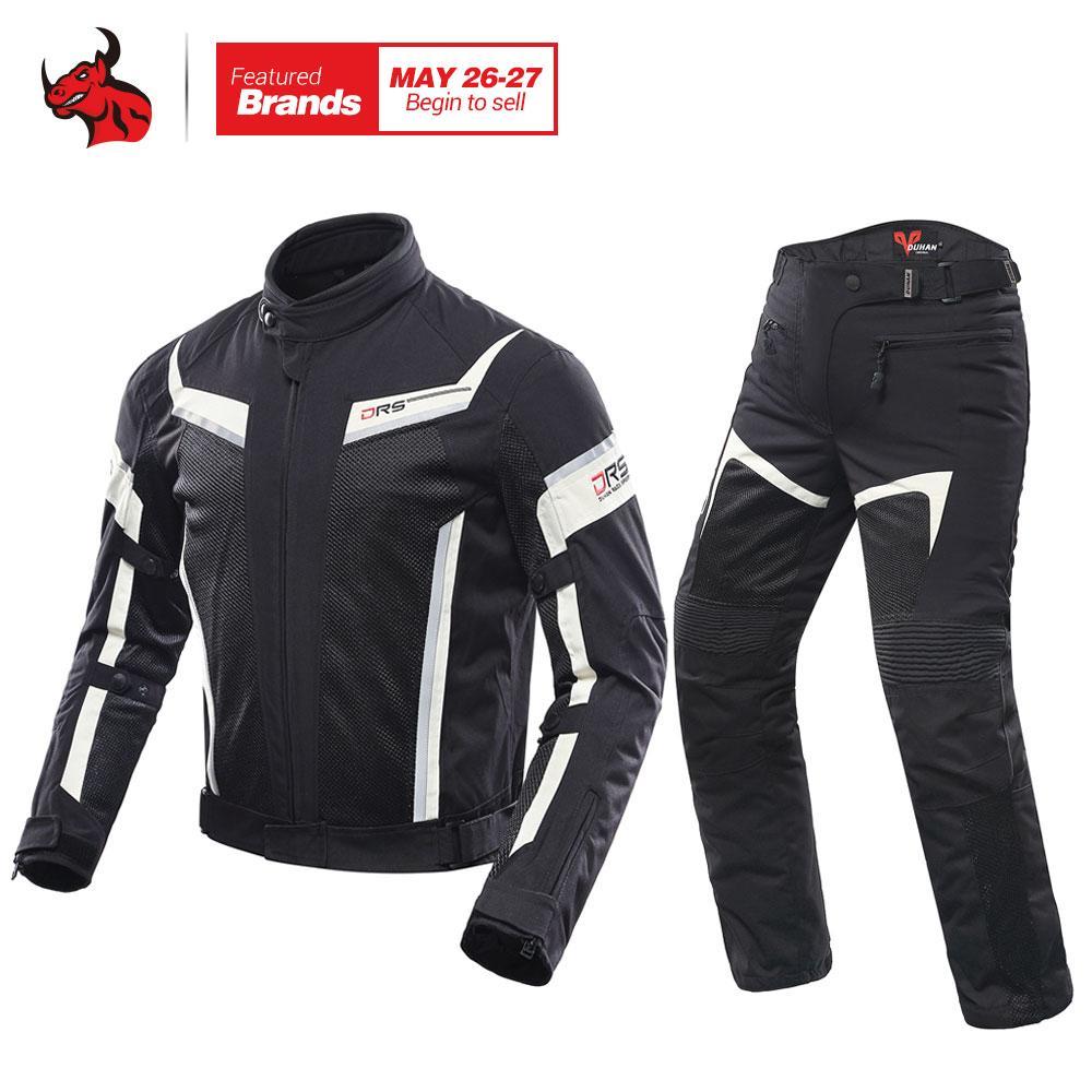 Textile Moto Blouson Femme Protections CE Respirant été Noir 2X