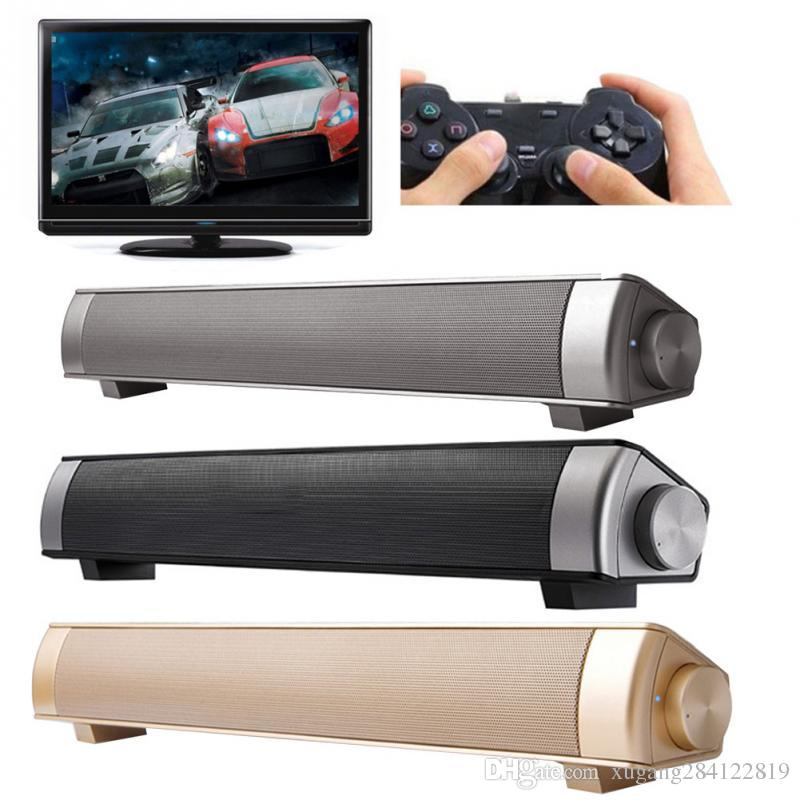 Wireless Bluetooth 3D Speaker Soundbar LP-08 HIFI Box Subwoofer Boombox Stereo Portable hands-free Party speakers for Cellphone PC