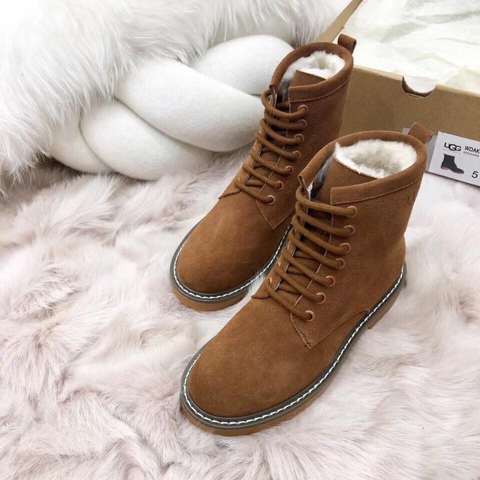 2018 luxe américain VGG marque hiver nouvelle femme brune bottes de neige occasionnels fourrure avec des bottes de cow boy, bottes en cuir, avec