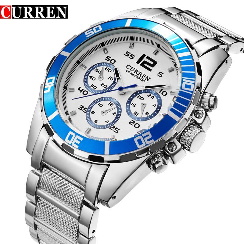 f35b0f8fd0a CURREN Original Top Brand Men Luxury Watch Casual Full Steel Calendar  Wristwatches Business Quartz Watches Relogio Masculino 8073 Buy  Wristwatches Designer ...
