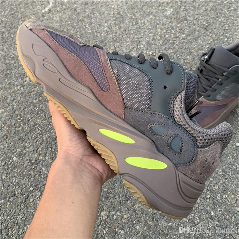3258cf0db89 2018 Newest Release Authentic Kanye West 700 Mauve Runner Running ...