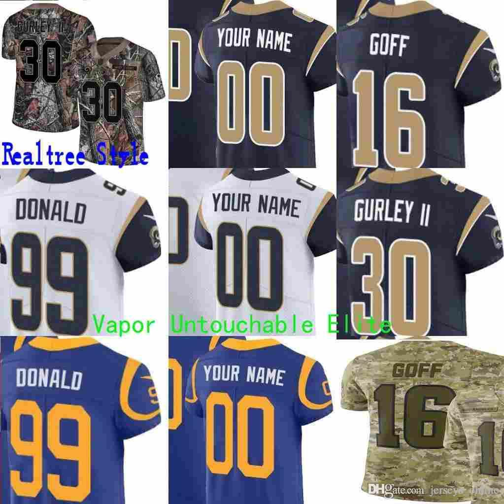 Mens Women Youth Los Angeles Aaron Donald Gurley II Jared Goff Eric ... a756120da