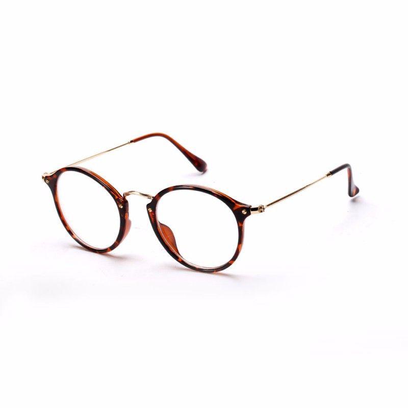 الجملة النساء الرجال خمر النظارات المستديرة إطارات النظارات البصرية إطار نظارات حملق oculos حرية الملاحة