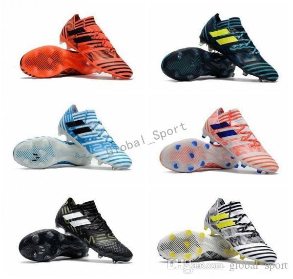 official photos 6c4e9 8e536 Compre 2018 Ace 17+ Purecontrol Fg Zapatos De Fútbol Para Hombre Nemeziz  17.1 Fg Zapatos De Fútbol High Tops Soccer Cordones De Fútbol Sin Cordones  Botas De ...