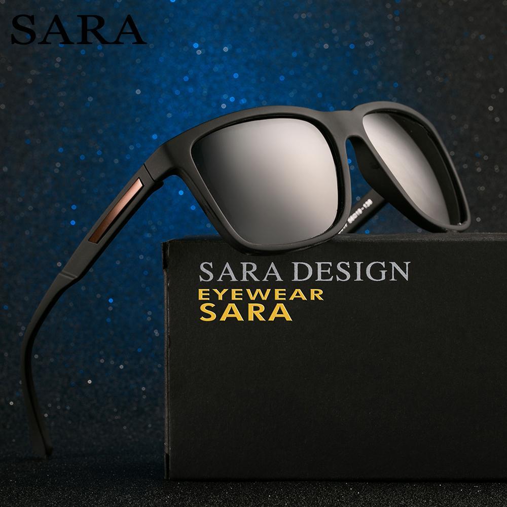 8114b87bf9ac8 SARA Square Polarized Sunglasses Men Women Brand Designer Mirror  Photochromic Classic Male Vintage Sun Glasses For Man Eyewear Custom  Sunglasses Heart ...
