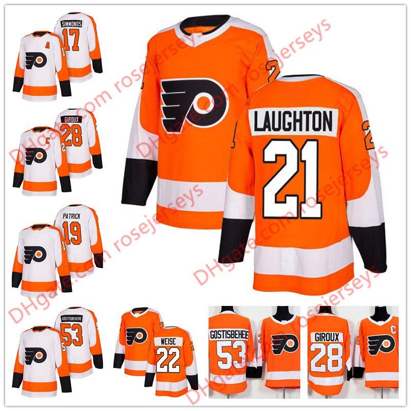 ed005204a Philadelphia Flyers  21 Scott Laughton 22 Dale Weise 23 Brandon ...