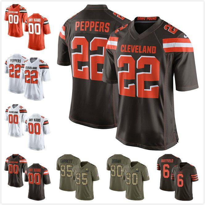 Cleveland Browns 6 Baker Mayfield 21 Denzel Ward 80 Jarvis Landry 95 ... 5d407c641