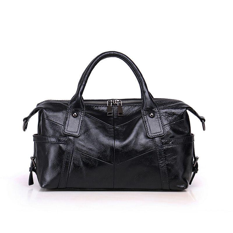 Handbags Female Casual Tote Bag High Quality Gray Genuine Leather Shoulder  Bags 2018 Women Designer Handbag Crossbody Bags Handbag Brands Reusable  Shopping ... 569fecd61060b