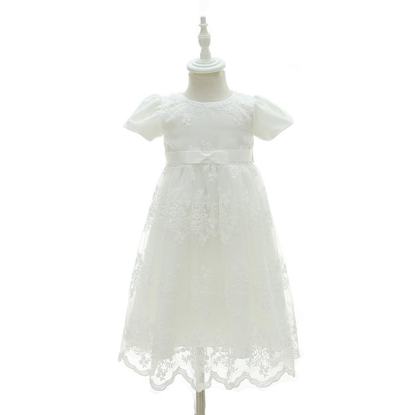 eb27498dc9a73 Acheter Mode 3 6 9 12 18 24 Mois Bébé Fille Robe Bébés Fête D anniversaire  Vêtements Nouveau Né Robe De Baptême Infantis D anniversaire Tenues De   36.66 Du ...