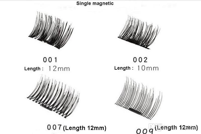 set pestañas visón 3d Pestañas magnéticas visón pestañas pestañas naturales imán hecho a mano con caja de regalo