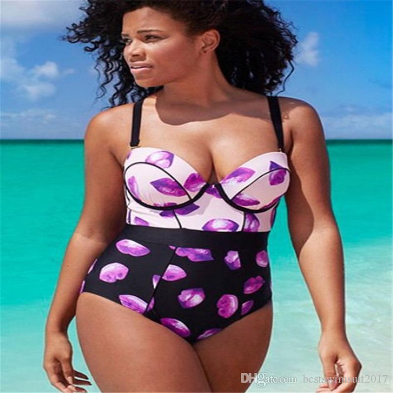 Yoga New Style Swimwear Women 2019 One Piece Swimsuit With Skirt Push Up Bathing Suit Swim Wear Plus Size L-3xl