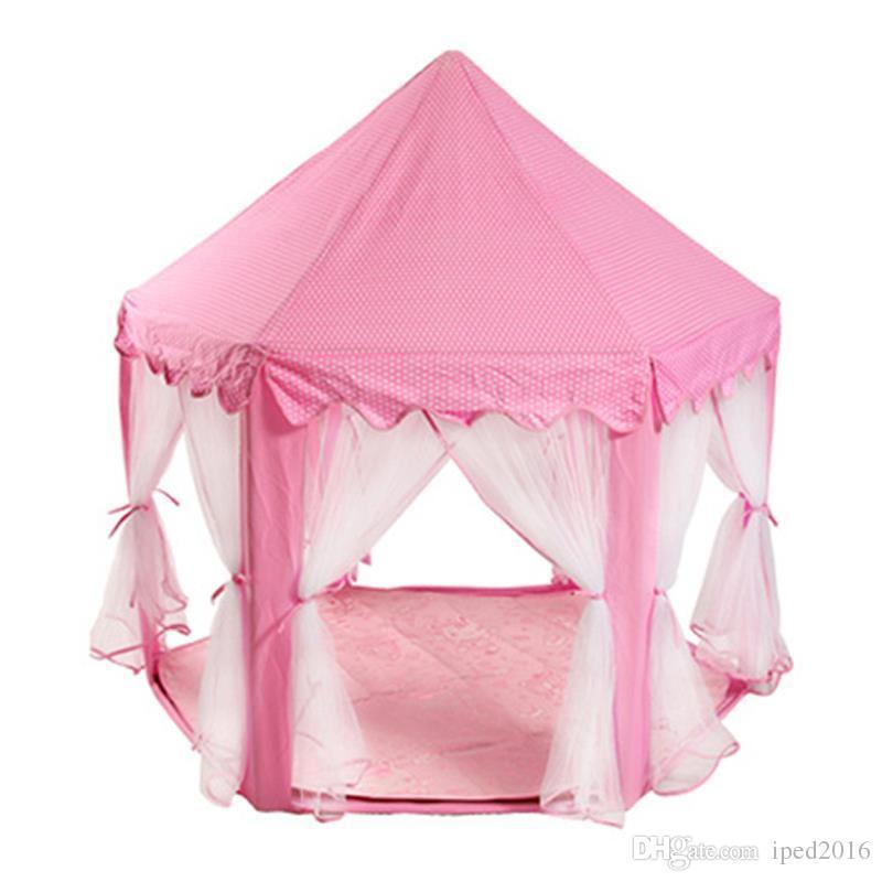 Belle ragazze Pink Princess Castle svegli Playhouse bambini Kids Play tenda esterna tenda dei giocattoli i bambini Bambini