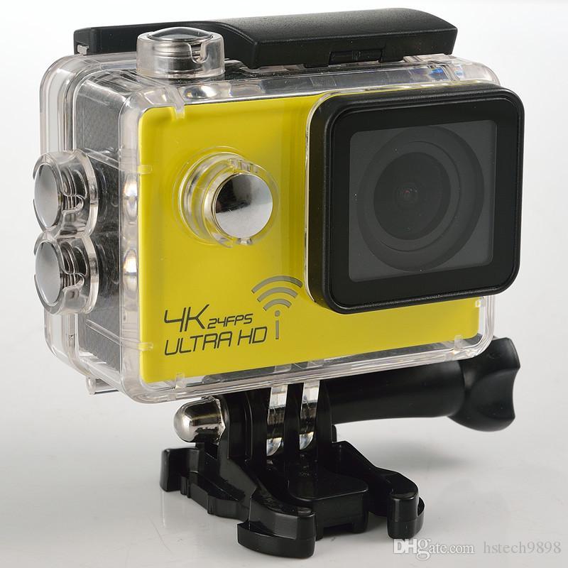 WIFI Action camera SJ8000 Ultra HD 4K 24FPS 16MP Sport Cam Helmet Camera Diving 30M waterproof camera 170D lens