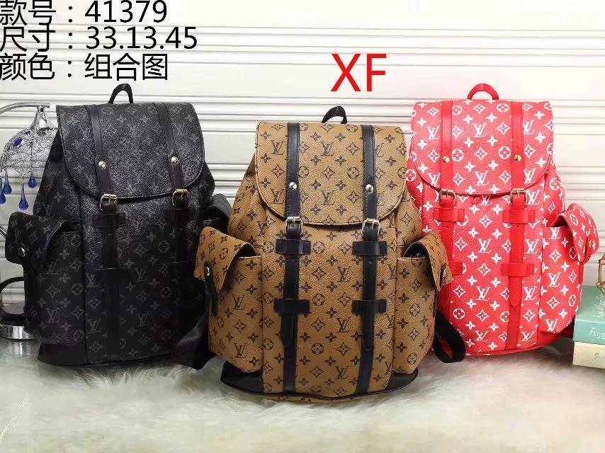 105e54cf6bd6 LOUIS VUITTON LV GUCCI Burberry Europe Designer Brand Damier Cobal Mens  Backpacks High Quality School Bag