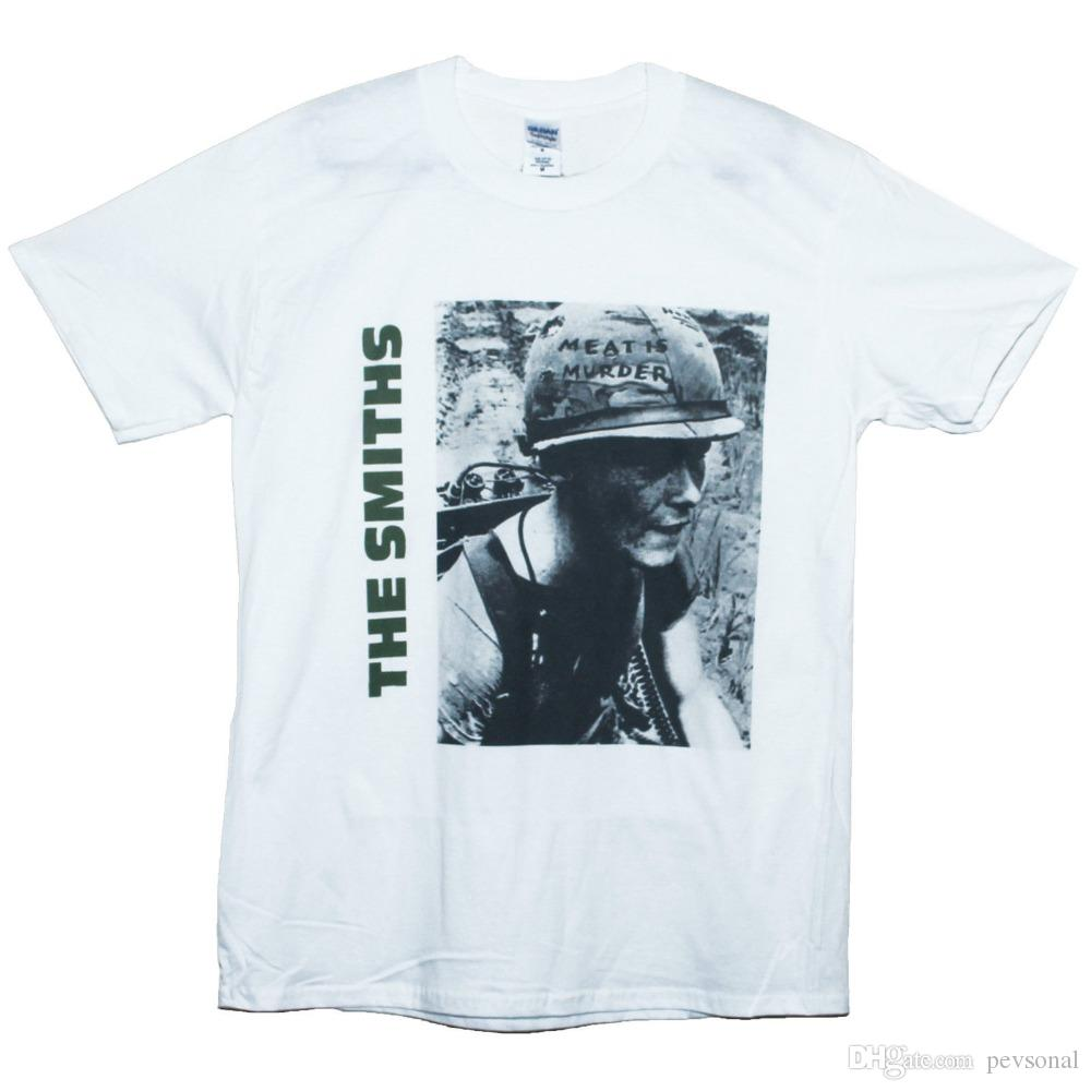30c22a22160 Cotton Shirts THE SMITHS T Shirt Joy Division Indie Rock New Wave ...
