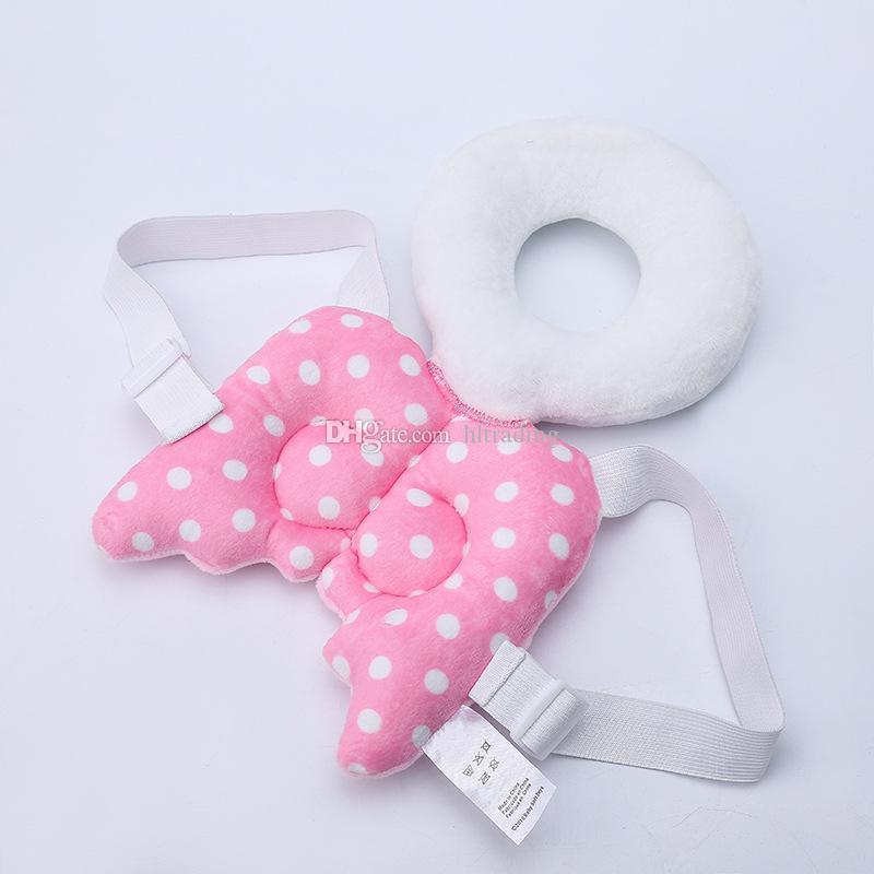 Protection de la tête pour bébé Coussin repose-tête pour tout-petit enfants Cou Mignon Ailes Allaitement Coussin de résistance aux chutes de soins sans ceinture de renforcement C3492
