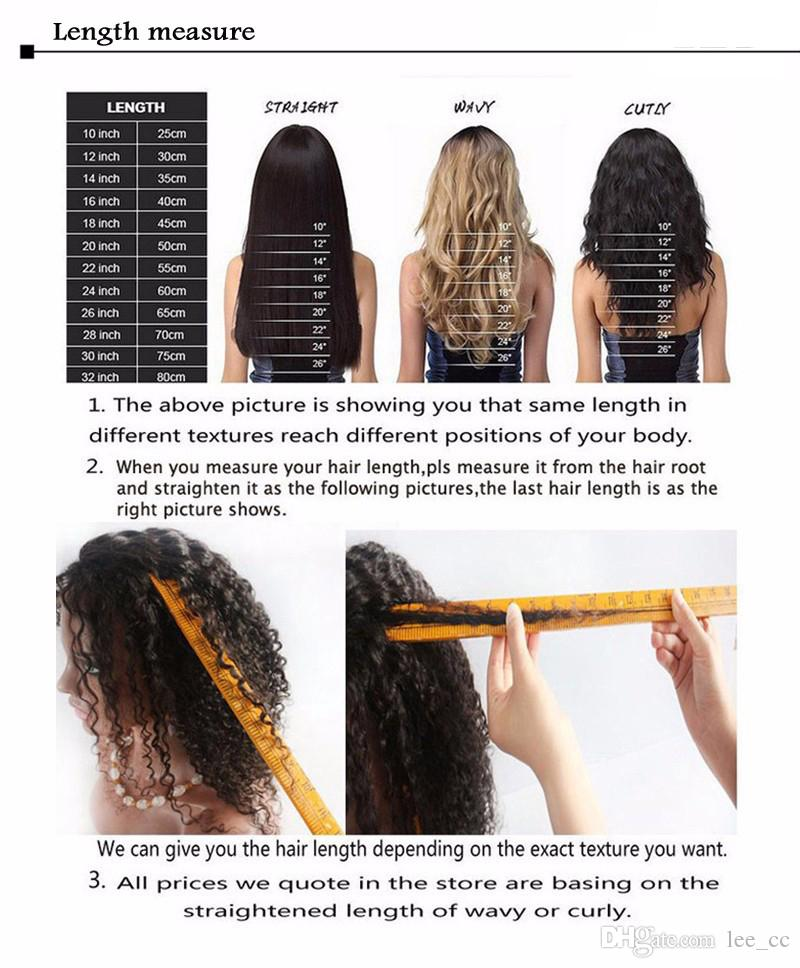 10A brasileña virginal del pelo humano pelucas llenas del cordón peruano malayo indio camboyano onda del cuerpo sin cola pelucas delanteras del cordón del bebé para la mujer negra