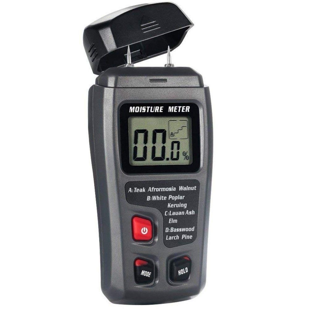 Niedrigerer Preis Mit Digital Lcd 2 Pin Holz Feuchtigkeit Meter Holz Hygrometer Feuchtigkeit Detektor Feuchtigkeit Tester Holz Feuchtigkeit Messung Werkzeuge Feuchtigkeit Meter