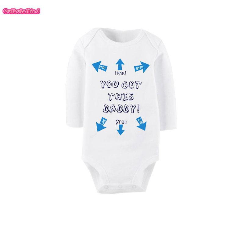 014f0dc37 2019 Culbutomind You Got This Daddy Funny White Long Sleeve Body ...
