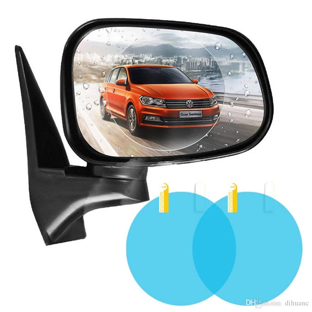 Auto & Motorrad: Teile Sonstige 2pcs Auto Anti Wassernebel Film Anti Fog Waterproof Rückspiegel Schutzfolien
