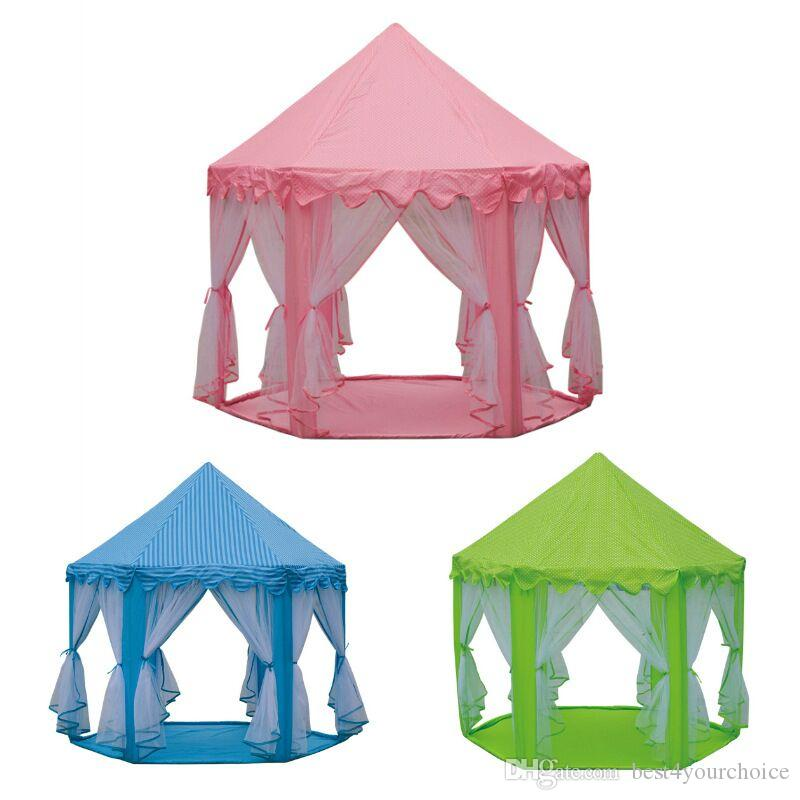 INS Children Portable Toy Tents Princess Castle Play Game Tent Activity Fairy House Fun Indoor Outdoor Sport Playhouse Toy Kids Xmas Gifts Play Tent Girls ...  sc 1 st  DHgate & INS Children Portable Toy Tents Princess Castle Play Game Tent ...