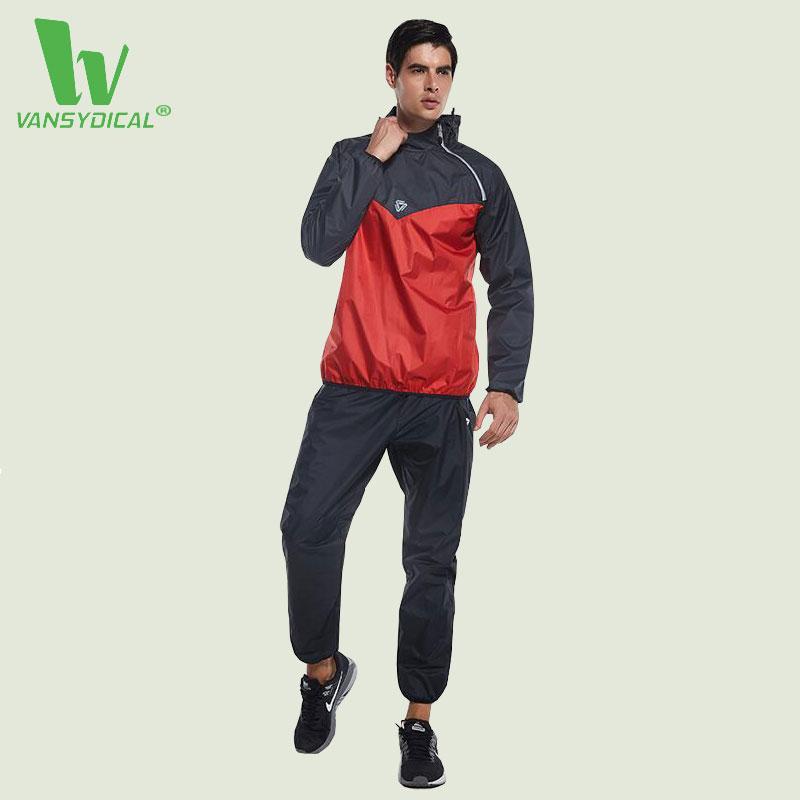 2cf3df3e3f73a Compre Al Por Mayor VANSYDICAL Warm Sport Suit Hombres Ropa Deportiva A  Prueba De Viento Gimnasio Trajes De Pista 2017 Más Nuevo Chándal Correr  Juegos ...