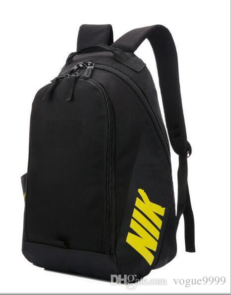 02e6449541 High Quality NIKE Sports Backpack Hiking Camping Unisex Backpacks Travel  Outdoor Knapsack Teenager Schoolbag Basketball Bag Backpacks For Girls  Waterproof ...