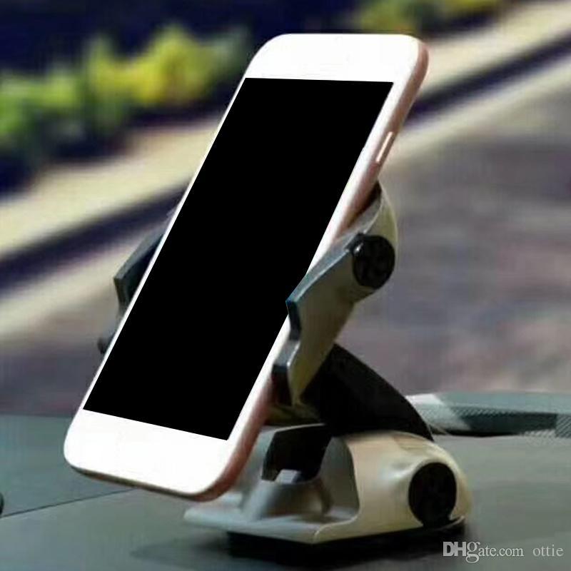 Manyetik emme yaratıcı spor araba modelleri mobil araç bağlar enstrüman masası vantuz braketi katlanır ottie tarafından döndürme