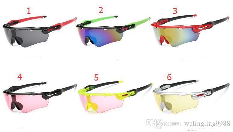 SUMMER New Men's riding glasses driving goggle cycling Sport Sunglasses Bicycle Glass Cheap price AAA quality